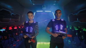 Lasertag vs Paintball