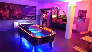 Acade Spielecke Berlin Lasertag