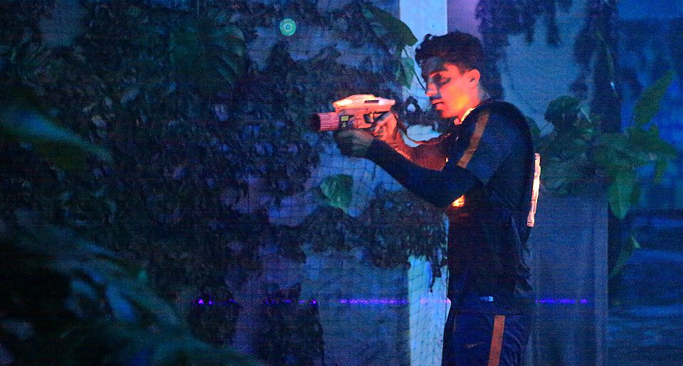 Lasertag VIPs – Very Interesting Players