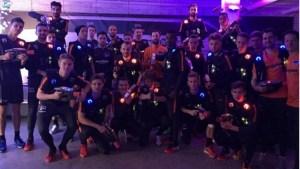 Hertha BSC hatte bereits zwei Teamevents bei Lasergame Berlin Charlottenburg