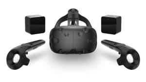 HTC Vive Virtual Reality Set bei Lasergame Berlin