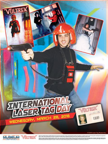 Internationaler Welt Lasertag Tag