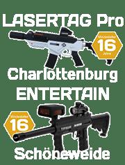 Lasertag Pro und Entertain