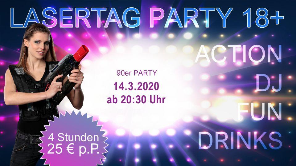 Lasertag Party Berlin