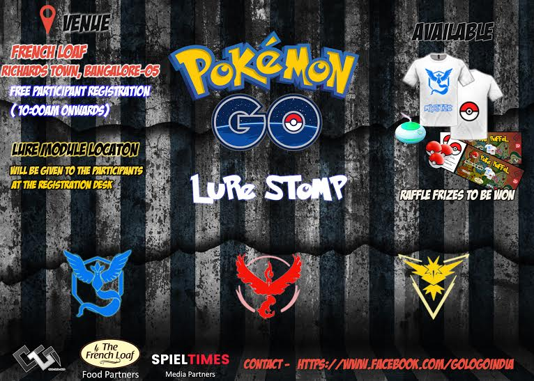 Pokemon Go Lure Stomp