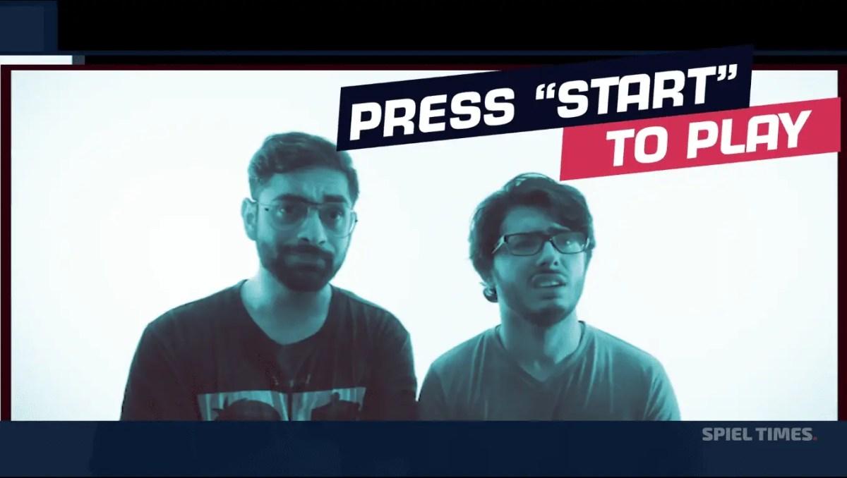 Press Start To Play CarryMinati