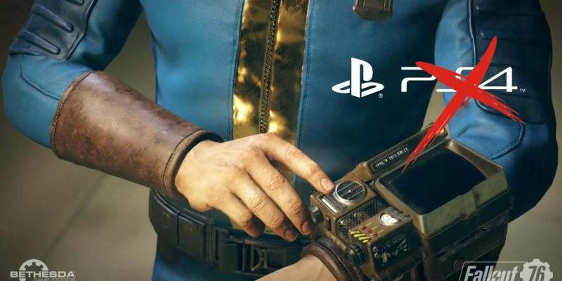 Fallout 76 Cross-Play