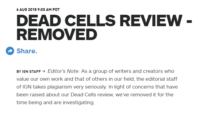 IGN Dead Cells Review