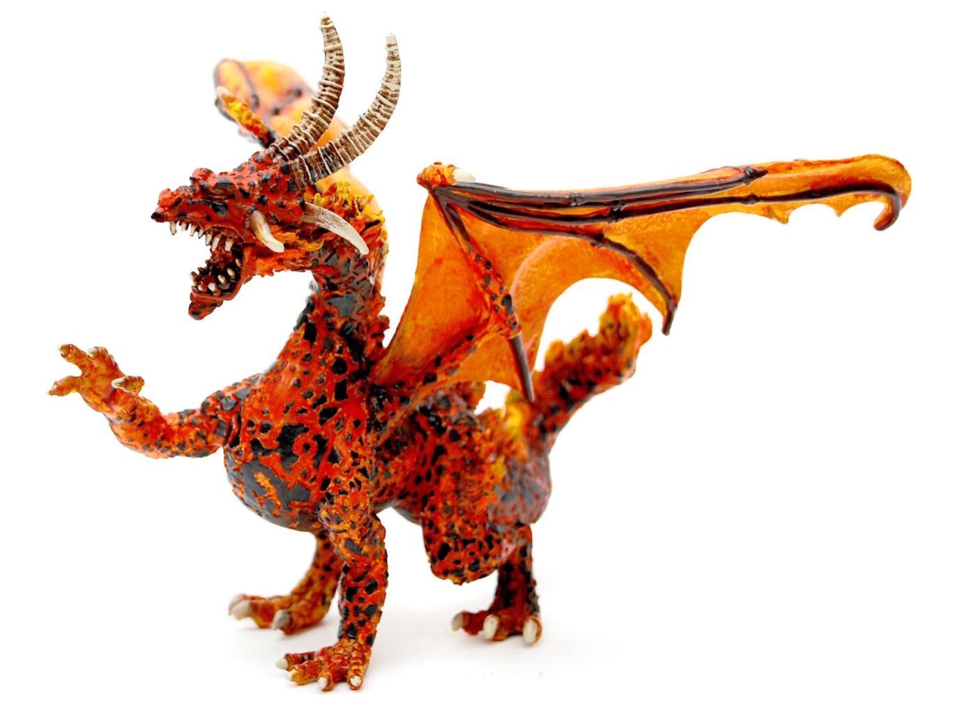 plastoy 60225 fire dragon