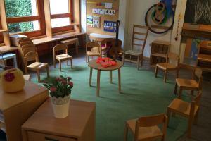 Spielzeugfreier Kindergarten