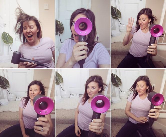 Dyson Supersonich hair dryer