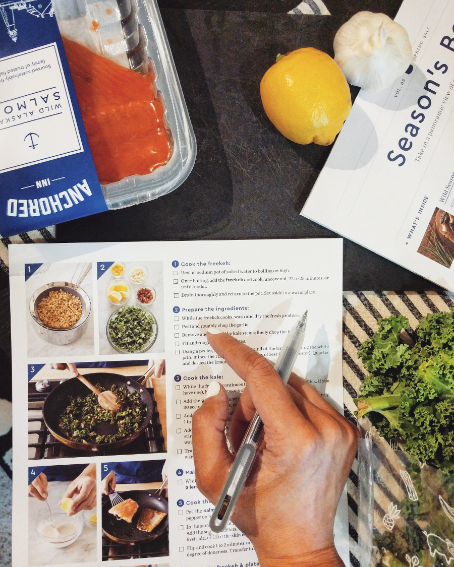 Blue apron brick chicken - Blue Apron And I Teamed Up And I M Showin You The 3 Meals I Created With It Fret Not If You Re Not The Most Adventurous Eater Like Myself