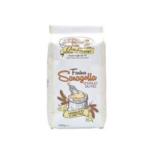 immagine di un pacco di farina di grano duro Saragolla da 1 kg