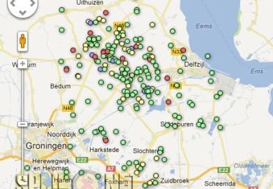 Aardbevingen op postcode in kaart gebracht
