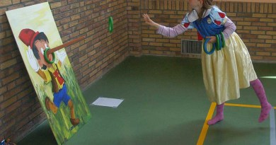 koninginnedag 2006 sporthal spelletjes