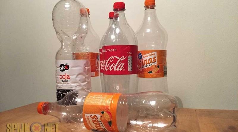 lege flessenactie