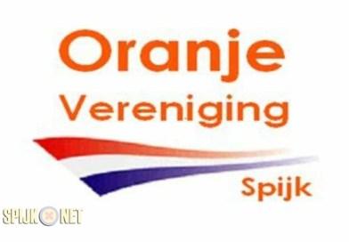 Jaarvergadering Oranje Vereniging Spijk