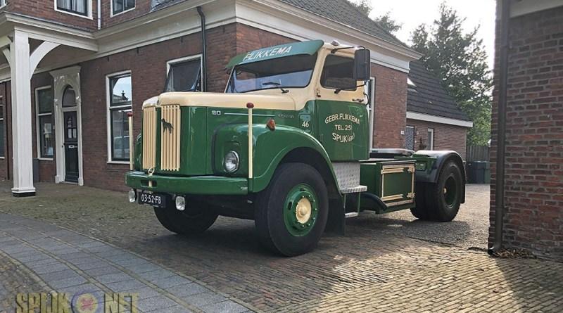 Bert Flikkema zijn Scania