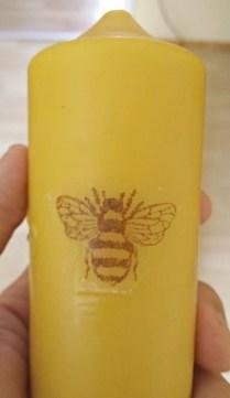 Bienenwachskerze-stempel-serviette