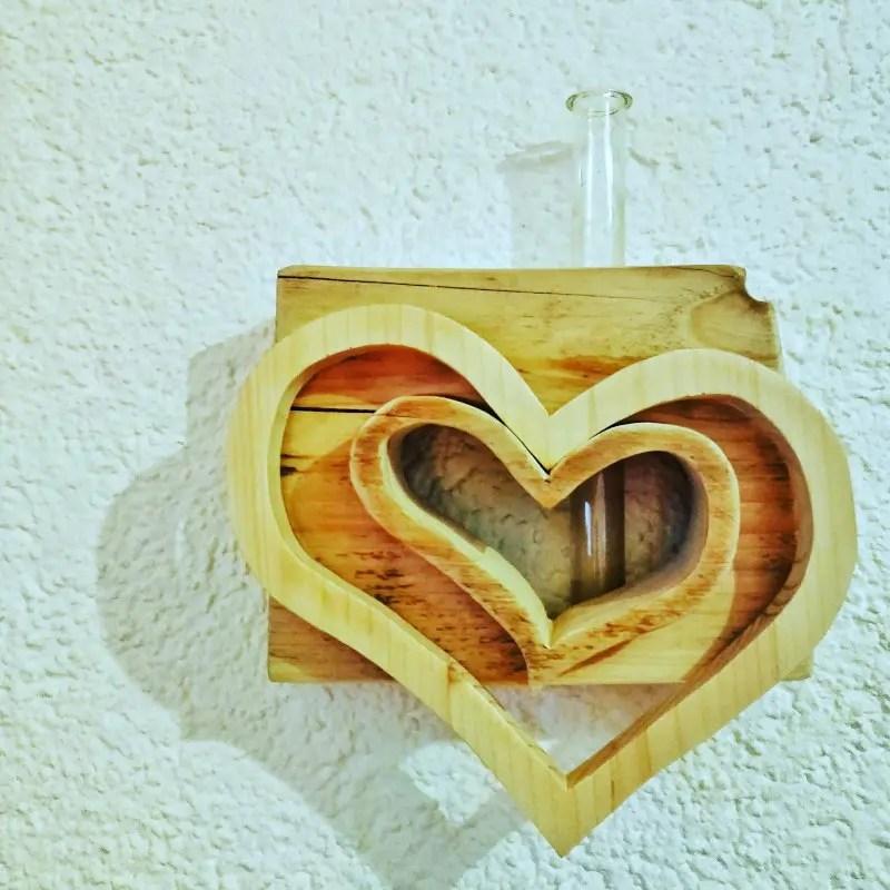 Herzvase Reagenzglas