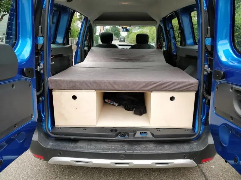 Campingbox ala Spike05de für Dacia Dokker