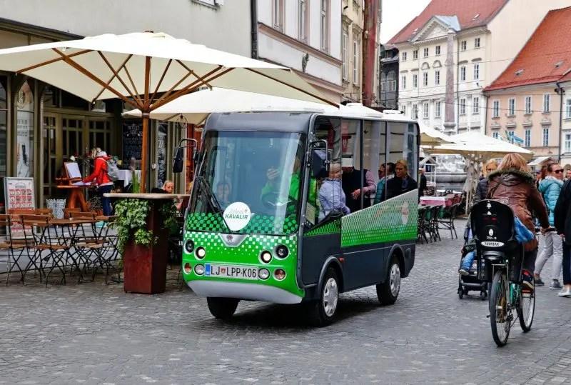 Ljubljana Kavalir Elektrobusse
