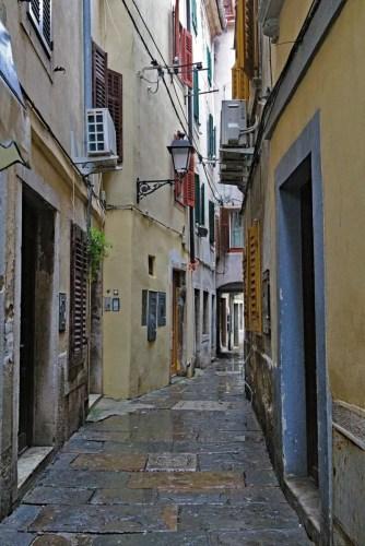 Gasse in Piran