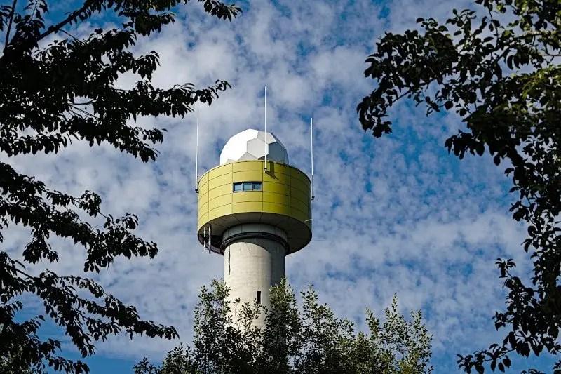 Wetterradarturm
