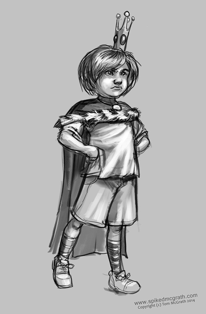 Prince Norman was a horrid child.