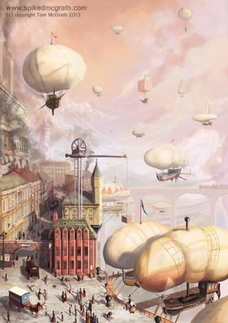 The Airship Docks