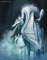 ice dragon illustration
