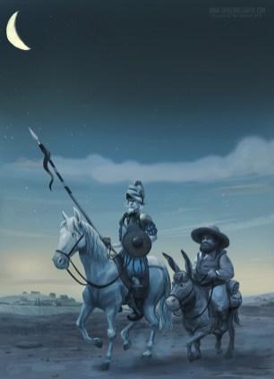 Don Quixote and Sancho Panza