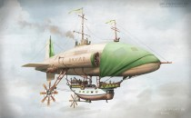"""The pirate ship """"Dryad"""""""