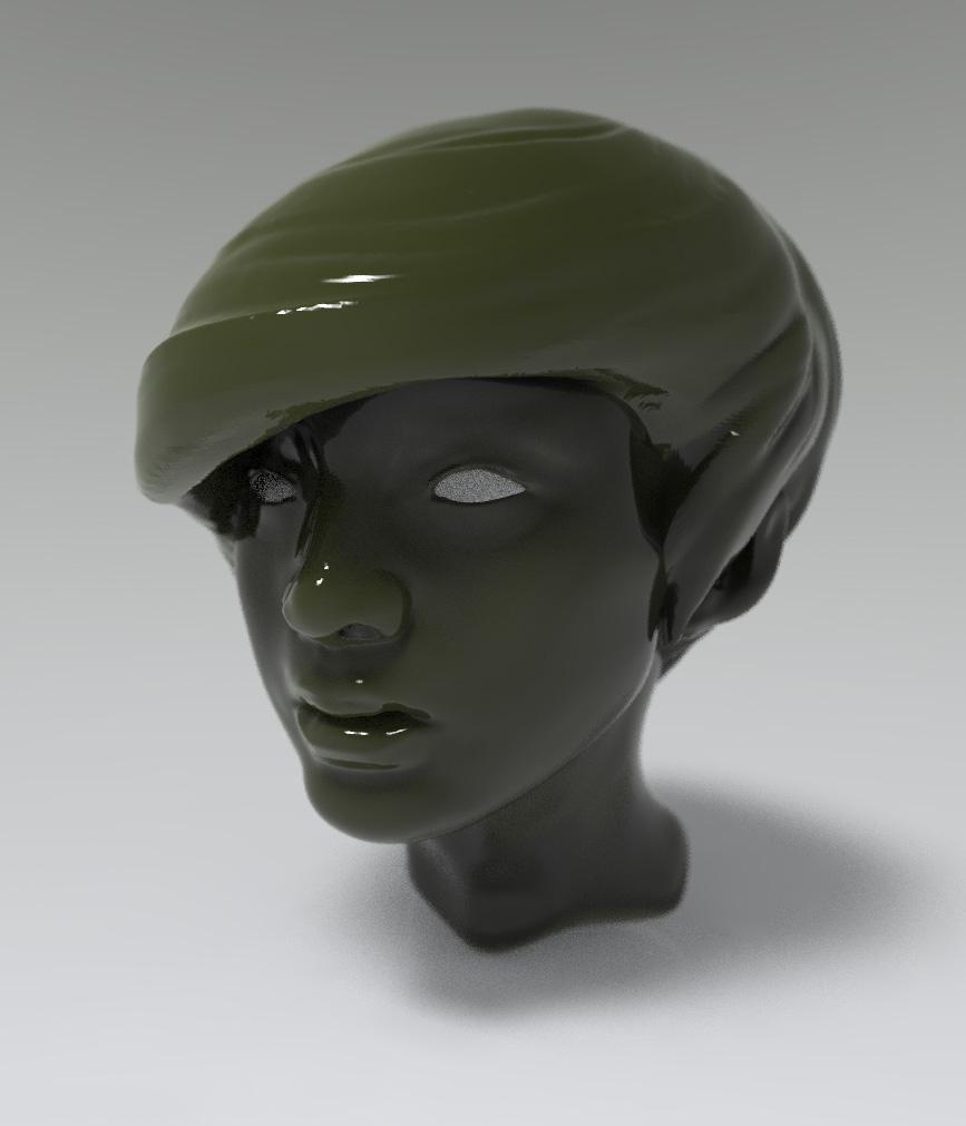 Girl head 01
