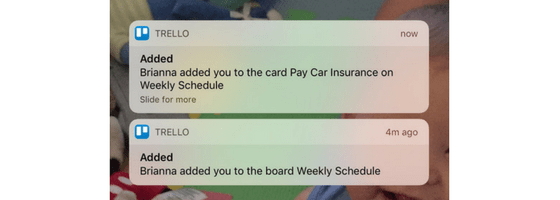 Trello Notifications