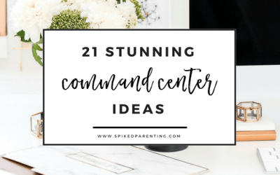 24 Stunning Command Center Ideas that Will Keep You Insanely Organized