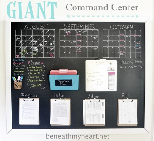 Giant Wall Command Center