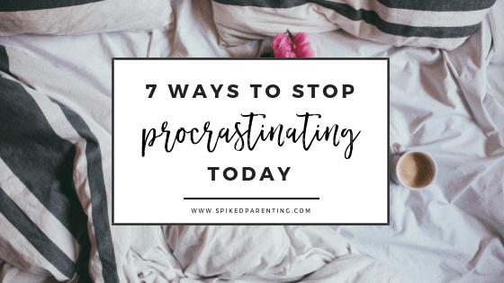 Procrastination: 7 Simple Tips to Stop Procrastinating in 2019