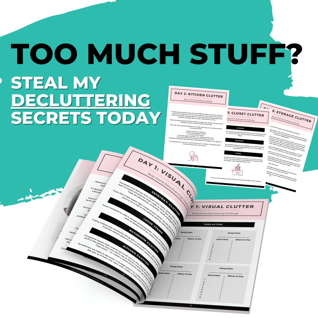 Busy Home Decluttering Challenge