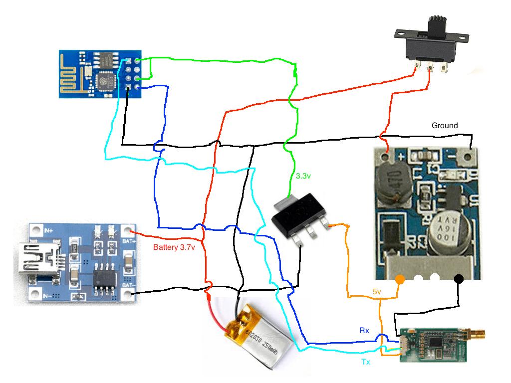 Ardu Pilot Mega Telemetry-Wifi bridge with ESP8266