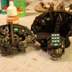 Black Skull Chair Rental Denver Build A Cockpit For Your Knight Titan - Hobby Tutorial Spikey Bits