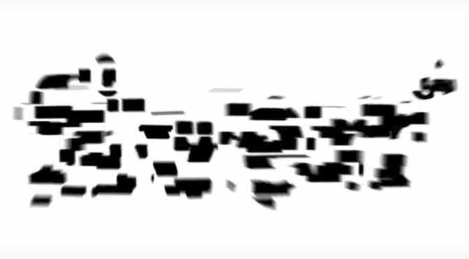 3D reverse logo explode effect