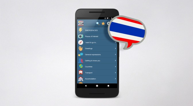 Thai Talk – mobile app