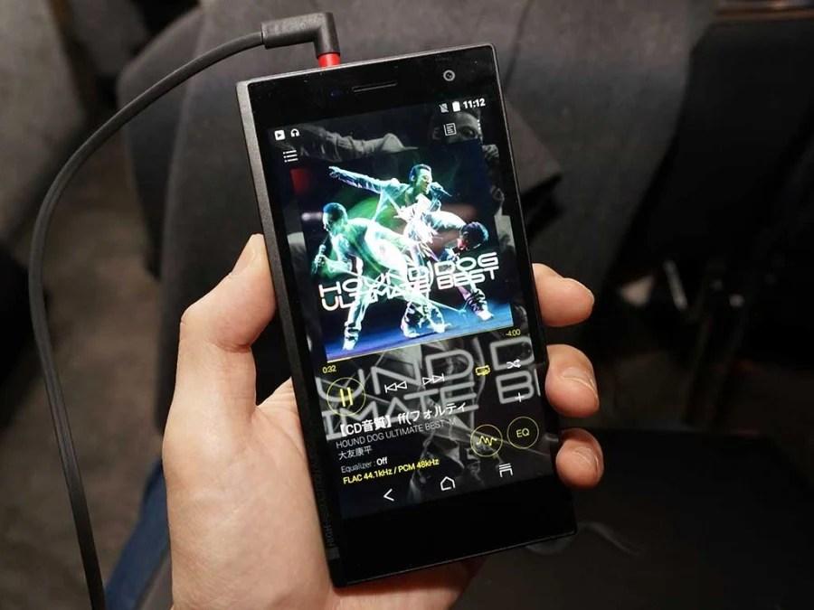 Onkyo 首推智能手機 DP-CMX1 支援雙 DAC 及平衡輸出   SPILL