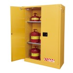 Sd45170f 170l Flammable Cabinet Self Closing