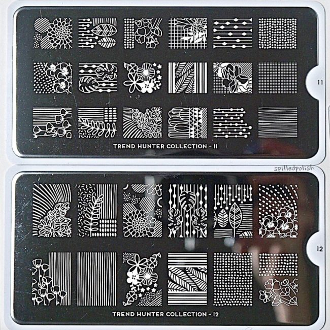 MoYou London Trend Hunter Stamping Plates (11 & 12)