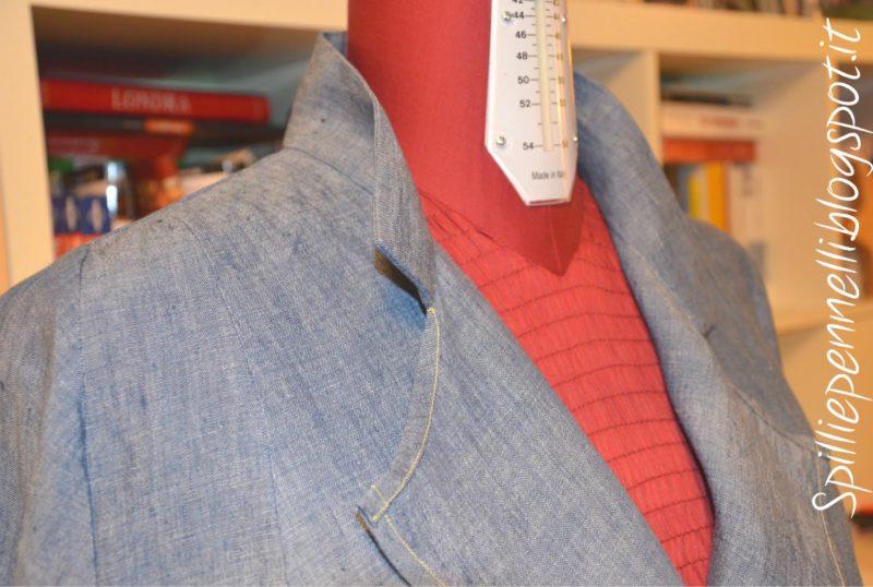 Ispirazione…giappo per il soprabito in lino