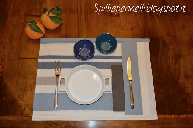 La mia tavola? buona ma anche bella!