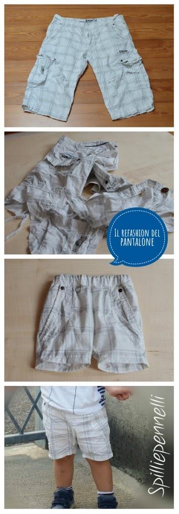 Refashion dei pantaloni