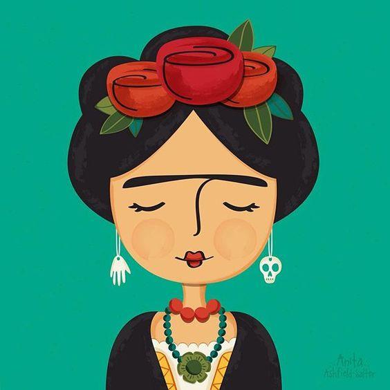 Frida Kahlo in un abito